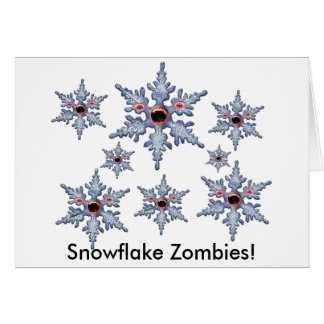 Attack of the Snowflake Zombies! Card