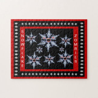 Attack of the Snowflake Zombies Puzzle