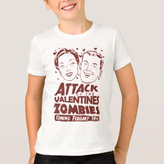 Attack of the Valentines Zombies T-Shirt