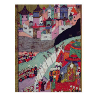 Attack on Belgrade in 1521 Postcard