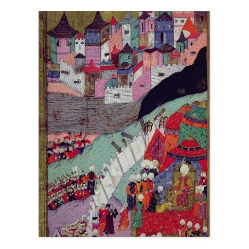 Attack on Belgrade in 1521 Post Cards