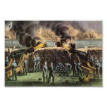 Attack on Ft. Sumter Poster