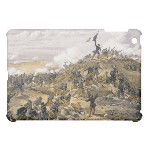 Attack on the Malakoff by William Simpson iPad Mini Cover