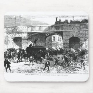 Attack on the Prison Van at Manchester Mouse Mat