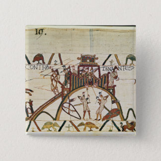 Attack on the Town of Dinan 15 Cm Square Badge