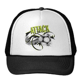 Attack - Sporty Slang Soccer Hat