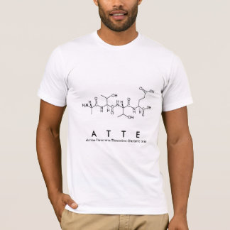 Atte peptide name shirt
