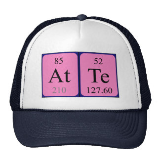 Atte periodic table name hat