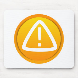 Attention Caution Symbol Mousepad