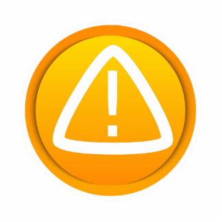 Attention Caution Symbol Photo Cutouts