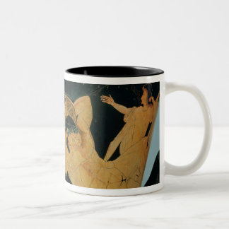 Attic red-figure calyx-krater 2 Two-Tone coffee mug