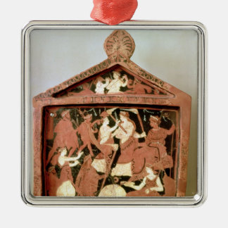 Attic votive tablet christmas ornament