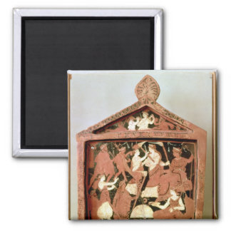 Attic votive tablet magnet