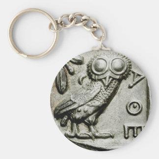 Attica Tetradrachm Owlthena Key Ring