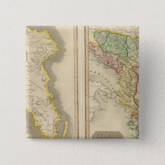 Attica, Turkey in Europe 15 Cm Square Badge