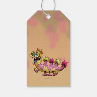 ATTILLA CUTE ALIEN MONSTER  GIFT TAG