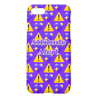 Attitude Alert iPhone 7 Matte Case