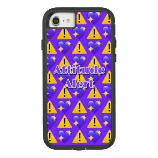 Attitude Alert (Purple) iPhone 7 Phone Case