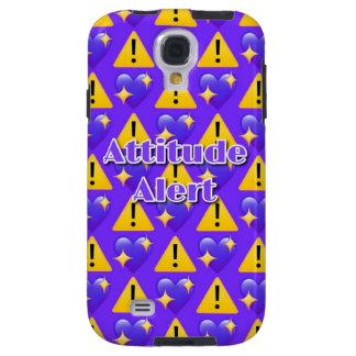 Attitude Alert (Purple) Samsung Galaxy S4 Case