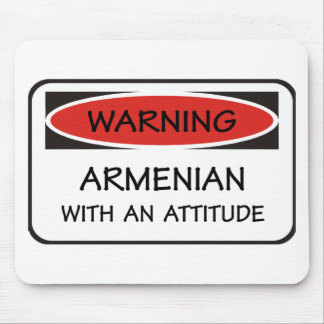 Attitude Armenian Mouse Mat