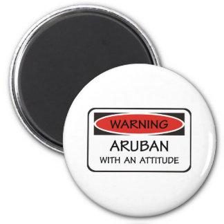 Attitude Aruban Fridge Magnet