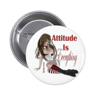 Attitude Attitude is Everything Pinback Buttons