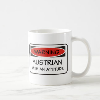 Attitude Austrian Basic White Mug