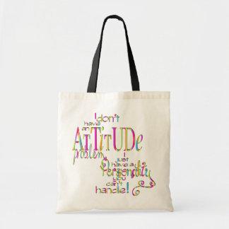 Attitude - Budget Tote