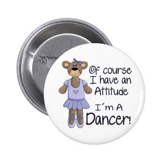 Attitude Dancer Pin