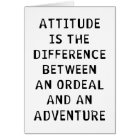 Attitude Difference Card