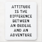 Attitude Difference Mouse Mat