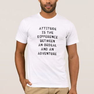 Attitude Difference T-Shirt