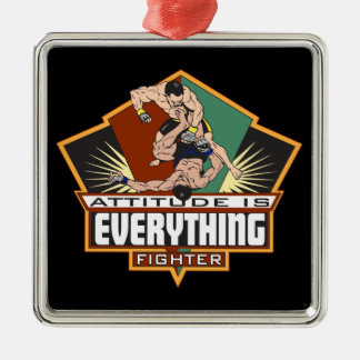 Attitude Fighter Christmas Ornament