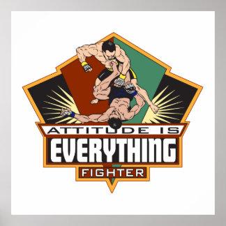 Attitude Fighter Print
