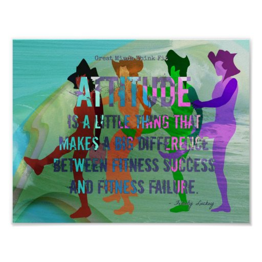 Attitude is a Little Thing! Poster