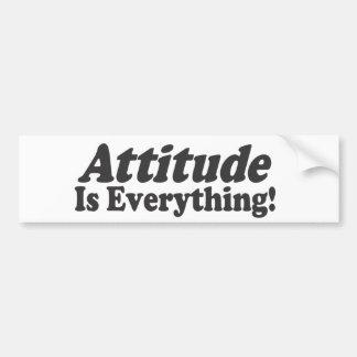 Attitude Is Everything! Bumper Sticker