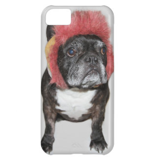 attitude is everything funny bulldog with hat iPhone 5C case