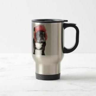 attitude is everything funny bulldog with hat coffee mugs