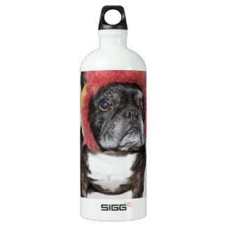 attitude is everything funny bulldog with hat SIGG traveller 1.0L water bottle