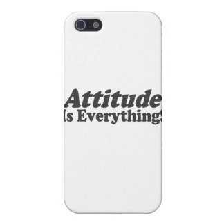 Attitude Is Everything! iPhone 5 Cover
