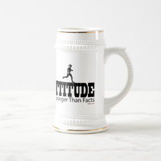 Attitude is Strong Than Facts Coffee Mug