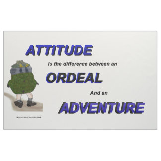 """Attitude is the ..."" Bulletin Board Fabric"