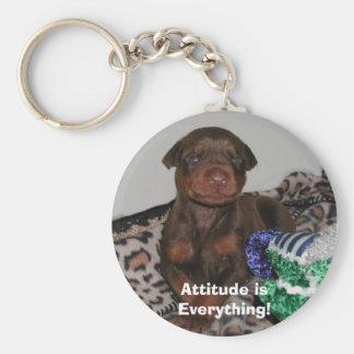 Attitude isEverything! Key Ring