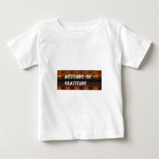 Attitude of Gratitude Wisdom Quote Slogan Theme Tee Shirt