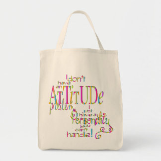 Attitude - Organic Grocery Tote