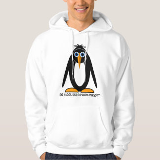 attitude penguin hoodie