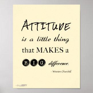 attitude poster