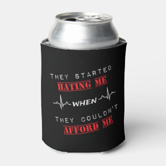 Attitude Quote Custom Can Cooler