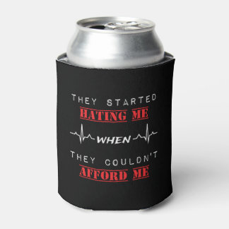 Attitude Quote On Custom Can Cooler