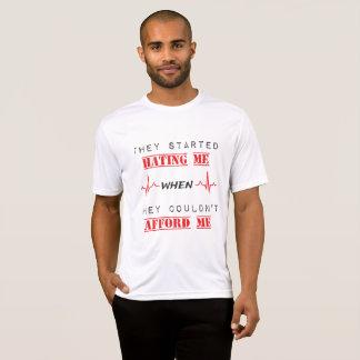Attitude Quote On Men's Sport-Tek T-Shirt